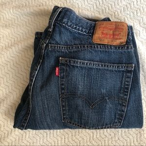 Levi's 559 Relaxed Straight Leg Jeans 34 x 30